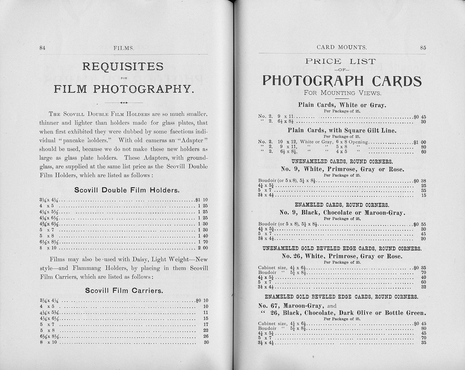 Apr 1891 Scovill & Adams catalog