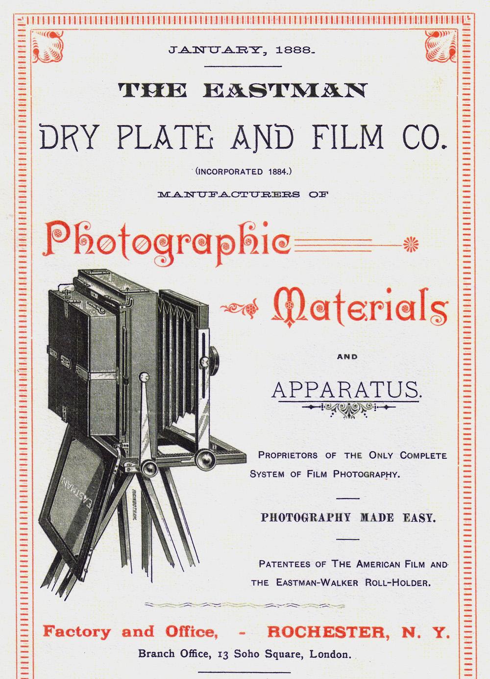Field View Cameras Eastman Kodak Co / Folmer & Schwing