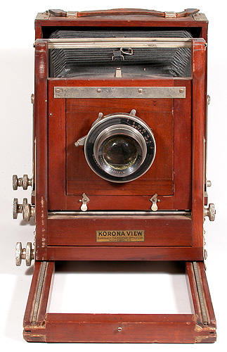 Gundlach Manhattan Optical Co Korona View Camera Late